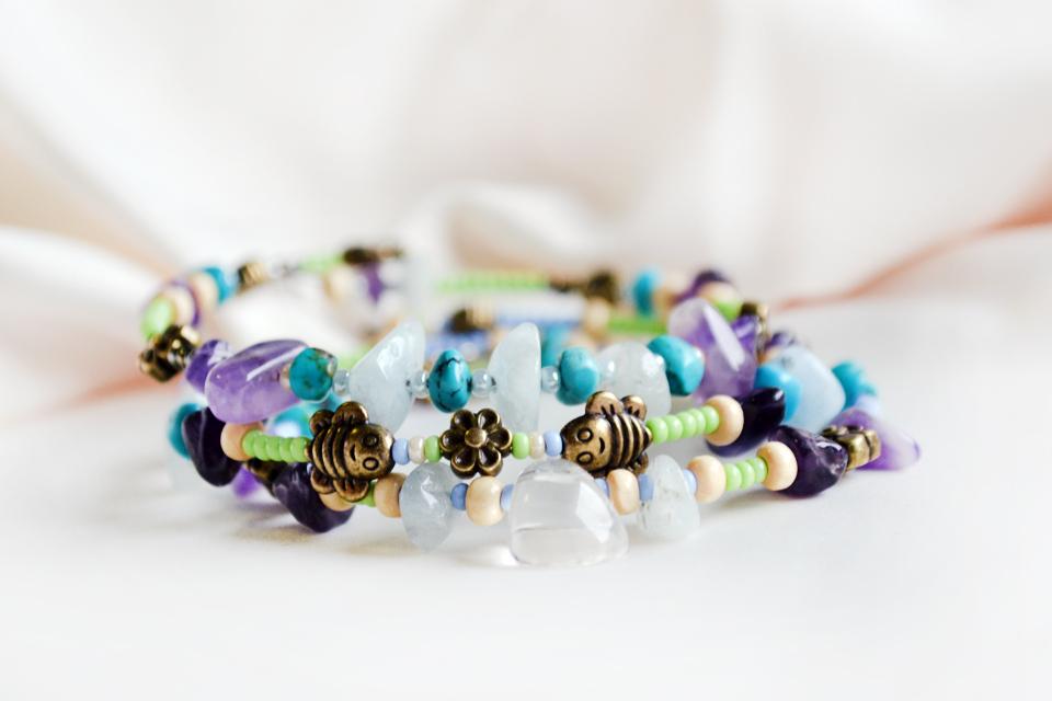 Spring Spirit fairy bracelets