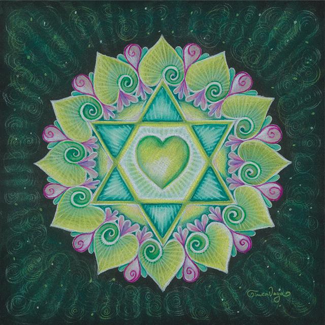 The Heart Chakra Mandala