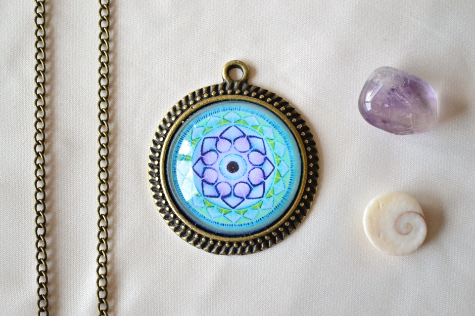 Song Of The Soul mandala necklace