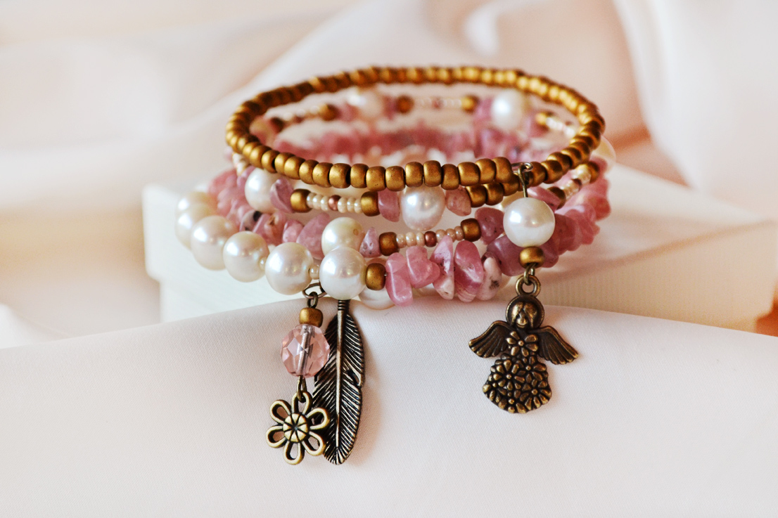 Angel beauty bracelet