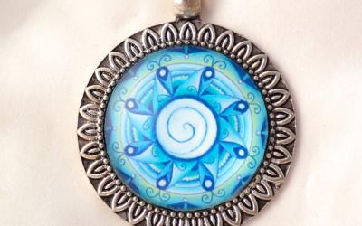WATER SPIRIT mandala necklace II
