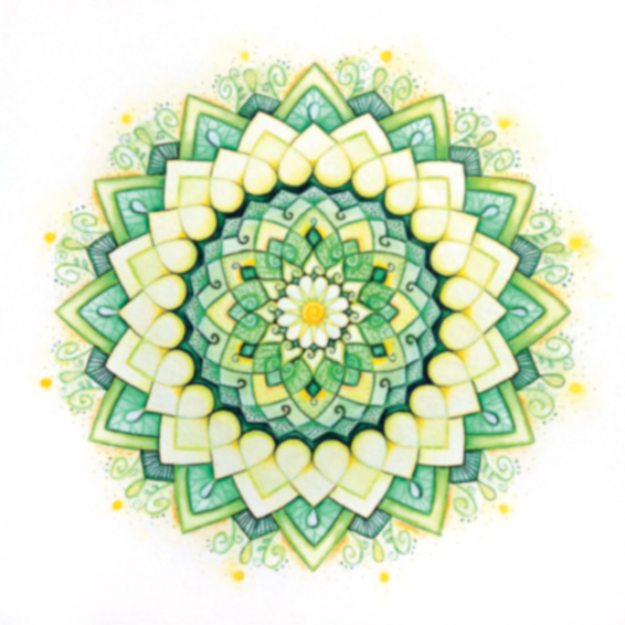 The emerald lotus of love