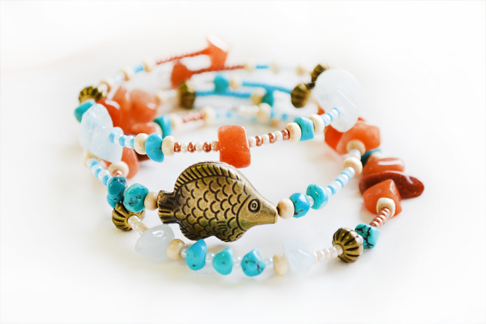 Little mermaid fairy bracelet