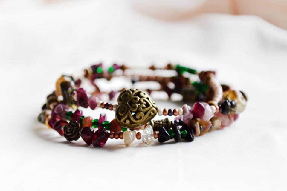 """""""Heart wide open"""" fairy bracelet"""