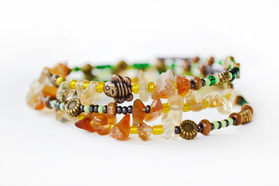 Summer Spirit fairy bracelet