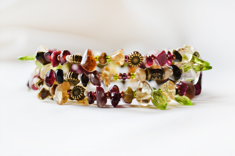 Blossom Time fairy bracelet