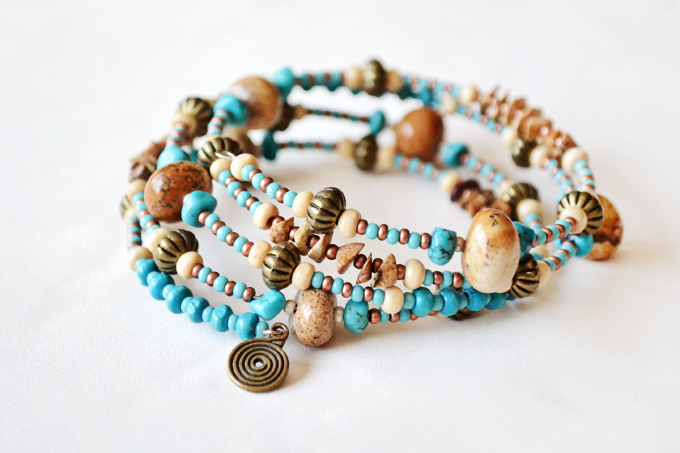 """Between earth and sky"" bracelet"