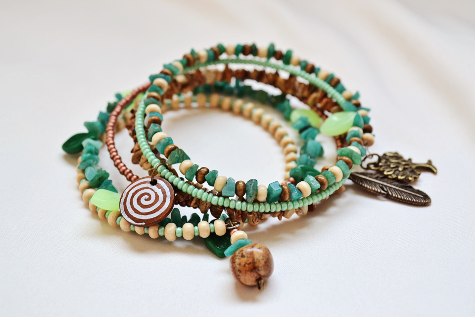 """""""The Keeper of the Forest"""" bracelet"""