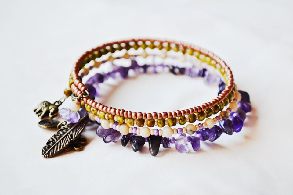 """Imagine"" Yoga bracelet"