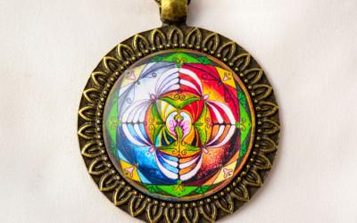 BALANCE & HARMONY mandala necklace II